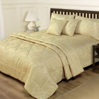 6 PIECE JACQUARD GOLD BEDDING - KING SIZE DUVET SET & BEDSPREAD THROW KING SIZE DUVET COVER & THROW SET – 6 PIECE JACQUARD GOLD BED SET 6 PIECE JACQUARD GOLD BEDDING KING SIZE DUVET SET BEDSPREAD THROW 0 400x400