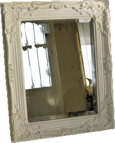 Best Selling WHITE Shabby Chic Antique Style MIRROR with Bevelled Mirror Glass - Overall Mirror Size: 21 inches x 17 inches (43cm x 53cm) Best Selling WHITE Shabby Chic Antique Style MIRROR with Bevelled Mirror Glass – Overall Mirror Size: 21 inches x 17 inches (43cm x 53cm) Best Selling WHITE Shabby Chic Antique Style MIRROR with Bevelled Mirror Glass Overall Mirror Size 21 inches x 17 inches 43cm x 53cm 0