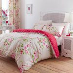 Canterbury Floral Red & Cream Single Duvet Cover Bedding Set Catherine Lansfield Canterbury Single Duvet Set Canterbury Floral Red Cream Single Duvet Cover Bedding Set 0 150x150