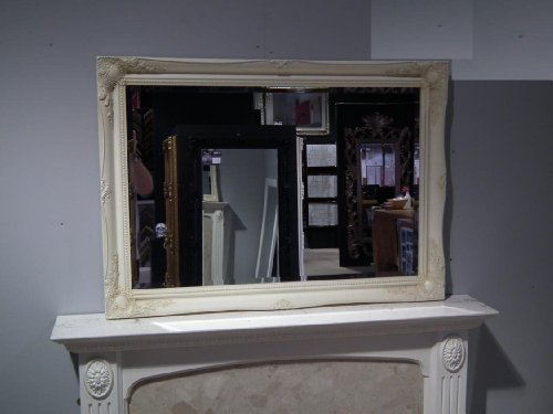 EXTRA LARGE IVORY Shabby Chic Antique Style Rectangular Wall MIRROR complete with Premium Quality Pilkington's Glass - Overall Size: 30 inches x 42 inches (77cm x 107cm) EXTRA LARGE IVORY Shabby Chic Antique Style Rectangular Wall MIRROR complete with Premium Quality Pilkington's Glass – Overall Size: 30 inches x 42 inches (77cm x 107cm) EXTRA LARGE IVORY Shabby Chic Antique Style Rectangular Wall MIRROR complete with Premium Quality Pilkingtons Glass Overall Size 30 inches x 42 inches 77cm x 107cm 0