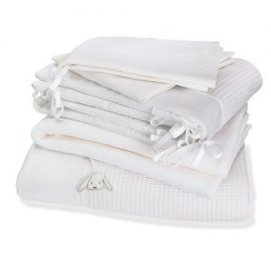 Izziwotnot Gift Cot Bed Luxury Bedding Bale (White, 5 Pieces) Izziwotnot Gift White Cotbed 5 piece Bedding Bale Izziwotnot Gift Cot Bed Luxury Bedding Bale White 5 Pieces 0 300x300