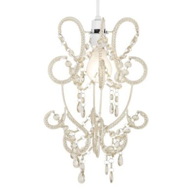 Modern Cream Shabby Chic Jewel Beaded Ceiling Pendant Light Shade Modern And Elegant Hanging Chandelier Cream Shabby Chic Jewel Beaded Ceiling Pendant Light Shade Modern Cream Shabby Chic Jewel Beaded Ceiling Pendant Light Shade 0 400x400