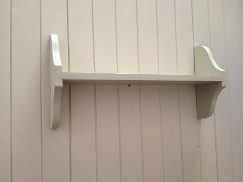 Single Tier Solid Pine Wall Shelf Various Sizes And