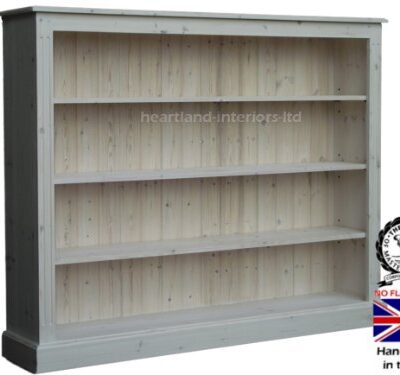 Solid Pine Bookcase, 4ft x 5ft Handcrafted & White Washed Adjustable Storage Display Shelving Unit, Bookshelves. Choice of Colours, No flat packs, No assembly Solid Pine Bookcase, 4ft x 5ft Handcrafted & White Washed Adjustable Storage Display Shelving Unit, Bookshelves. Choice of Colours, No flat packs, No assembly (BK15) Solid Pine Bookcase 4ft x 5ft Handcrafted White Washed Adjustable Storage Display Shelving Unit Bookshelves