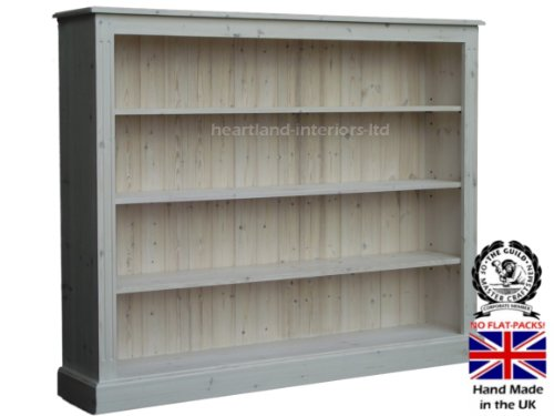 with product chunky bookcase pine drawers