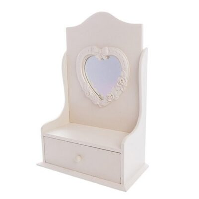 West5Products Childrens Cream Jewellery Stand in Design of Dressing Table Mirror with Jewellery Drawer West5Products Childrens Cream Jewellery Stand in Design of Dressing Table Mirror with Jewellery Drawer West5Products Childrens Cream Jewellery Stand in Design of Dressing Table Mirror with Jewellery Drawer 0 400x400