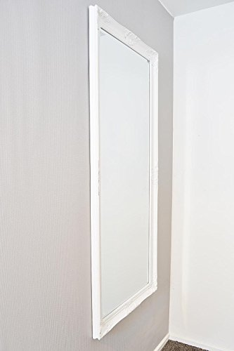 Large White Bevelled Full Length Dressing Wall Mirror 5ft6