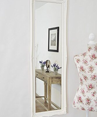 MATT WHITE FULL LENGTH Shabby Chic Antique Style Rectangular Dressing / Hall Mirror complete with Premium Quality Pilkington's Glass - Overall Size: 49 inches x 16 inches (124cm x 41cm) MATT WHITE FULL LENGTH Shabby Chic Antique Style Rectangular Dressing / Hall Mirror complete with Premium Quality Pilkington's Glass – Overall Size: 49 inches x 16 inches (124cm x 41cm) MATT WHITE FULL LENGTH Shabby Chic Antique Style Rectangular Dressing Hall Mirror complete with Premium Quality Pilkingtons Glass Overall Size 49 inches x 16 inches 124cm x 41cm 0 333x400