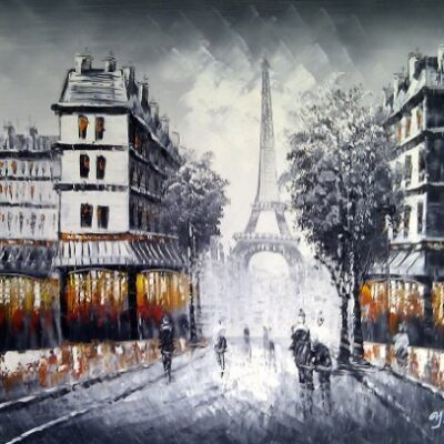 Large Paris at Dusk street scene with Eiffel Tower. Fine Art oil on canvas painting - Superb quality and craftsmanship, hand made wall art Large Paris at Dusk street scene with Eiffel Tower. Fine Art oil on canvas painting – Superb quality and craftsmanship, hand made wall art Large Paris at Dusk street scene with Eiffel Tower Fine Art oil on canvas painting Superb quality and craftsmanship hand made wall art 0 400x400