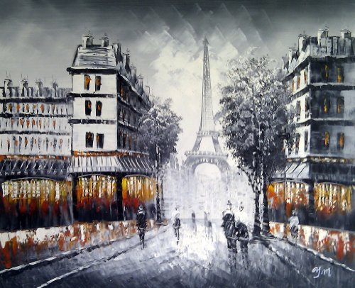 Large Paris at Dusk street scene with Eiffel Tower. Fine Art oil on canvas painting - Superb quality and craftsmanship, hand made wall art Large Paris at Dusk street scene with Eiffel Tower. Fine Art oil on canvas painting – Superb quality and craftsmanship, hand made wall art Large Paris at Dusk street scene with Eiffel Tower Fine Art oil on canvas painting Superb quality and craftsmanship hand made wall art 0