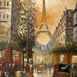 Paris in Colour - Large Fine Art oil on canvas painting - Superb quality and craftsmanship, hand made wall art, by Rflkt brand trademark Paris in Colour – Large Fine Art oil on canvas painting – Superb quality and craftsmanship, hand made wall art, by Rflkt brand trademark Paris in Colour Large Fine Art oil on canvas painting Superb quality and craftsmanship hand made wall art 0 150x150