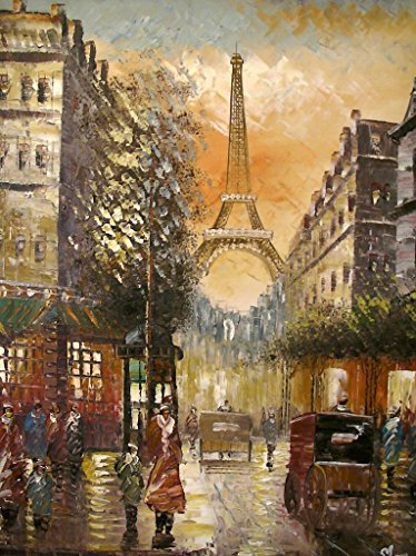 Paris in Colour - Large Fine Art oil on canvas painting - Superb quality and craftsmanship, hand made wall art, by Rflkt brand trademark Paris in Colour – Large Fine Art oil on canvas painting – Superb quality and craftsmanship, hand made wall art, by Rflkt brand trademark Paris in Colour Large Fine Art oil on canvas painting Superb quality and craftsmanship hand made wall art 0