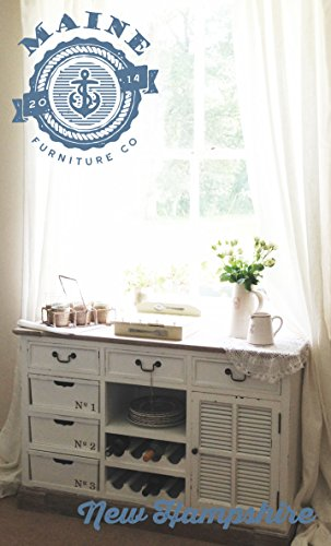 shabby chic french antique style buffet cabinet sideboard dresser painted white 0 shabbychic. Black Bedroom Furniture Sets. Home Design Ideas