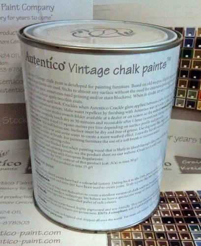 Rose Vintage Furniture Paint 100ml ROSE Autentico Vintage Furniture Paint – 2.5L Chalk Grey Autentico Vintage Furniture Paint 100ml 0 2