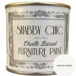 Chalky White Furniture Chalk Paint great for creating a shabby chic style. 125ml Chalky White Furniture Chalk Paint great for creating a shabby chic style. 125ml Chalky White Furniture Chalk Paint great for creating a shabby chic style 125ml 0 150x150