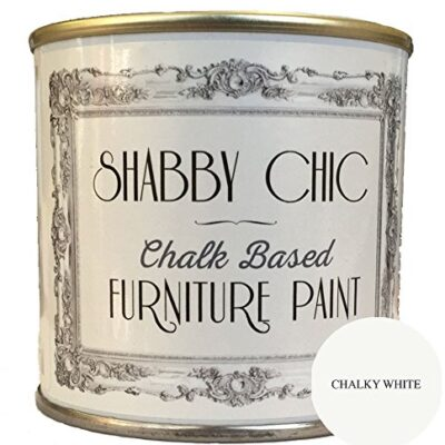 Chalky White Furniture Paint great for creating a shabby chic style. 1 litre Chalky White Furniture Paint great for creating a shabby chic style. 1 litre Chalky White Furniture Chalk Paint great for creating a shabby chic style 125ml 0 400x400