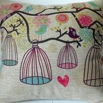 "Cotton Linen Square Decorative Throw Pillow Case Cushion Cover Bird and Birdcage 18 ""X18 "" Cotton Linen Square Decorative Throw Pillow Case Cushion Cover Bird and Birdcage 18 ""X18 "" Cotton Linen Square Decorative Throw Pillow Case Cushion Cover Bird and Birdcage 18 X18 0 150x150"