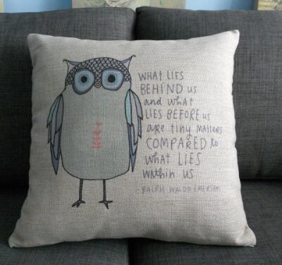 "Cotton Linen Square Throw Pillow Case Decorative Cushion Cover Pillowcase Owl Sayings 18 ""X18 "" Cotton Linen Square Throw Pillow Case Decorative Cushion Cover Pillowcase Owl Sayings 18 ""X18 "" Cotton Linen Square Throw Pillow Case Decorative Cushion Cover Pillowcase Owl Sayings 18 X18 0 400x375"
