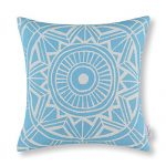 Euphoria Home Decorative Cushion Covers Pillows Shell Cotton Linen Blend Compass Geometric Light Blue Color 45cm X 45cm Euphoria Home Decorative Cushion Covers Pillows Shell Cotton Linen Blend Geometric Compass 45 cm x 45 cm, Cotton, bright blue, 45 x 45 cm Euphoria Home Decorative Cushion Covers Pillows Shell Cotton Linen Blend Compass Geometric Blue Color 18 X 18 0 150x150