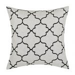 Euphoria Home Decorative Cushion Covers Pillows Shell Linen Blend Embroidery Big Trellis Chain Accent Black 43 X 43cm Euphoria CaliTime Home Decor Cushion Covers Throw Pillows Shell Linen Blend Embroidery Trellis Chain Accent 43 X 43cm Dark Grey Euphoria Home Decorative Cushion Covers Pillows Shell Linen Blend Embroidery Big Trellis Chain Accent Black 17 X 17 0 150x150
