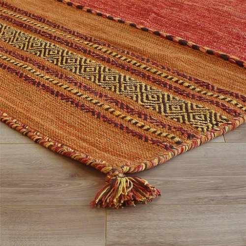 Kelim Ethnic Rugs Terra Handmade Flatweave Shabby Chic 120