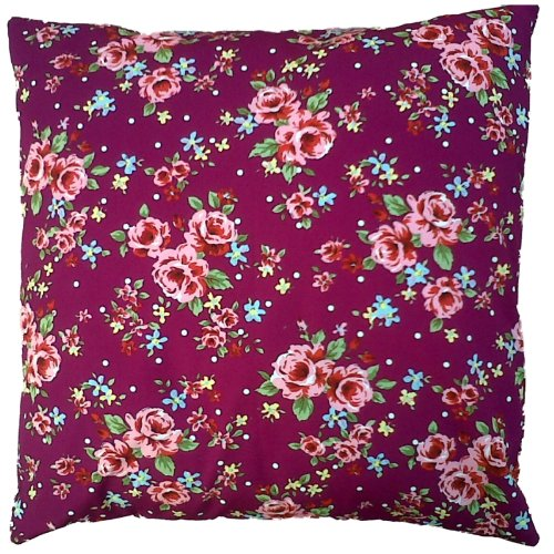 Purple Vintage Floral Cushion Cover Shabby Country Chic Style Purple Vintage Floral Cushion Cover Shabby Country Chic Style Purple Vintage Floral Cushion Cover Shabby Country Chic Style 0