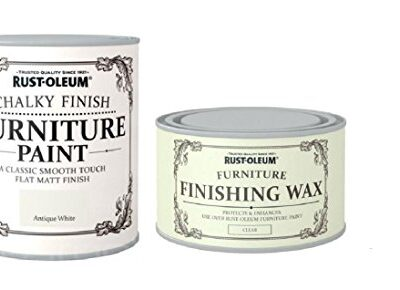 Rust-Oleum Chalk Antique White Matt Furniture Paint 750ml Plus Furniture Wax Rust-Oleum Chalk Antique White Matt Furniture Paint 750ml Plus Furniture Wax Rust Oleum Chalk Antique White Matt Furniture Paint 750ml Plus Furniture Wax 0 400x290