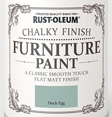 Rust-Oleum Chalky Finish Furniture Paint - Duck Egg - 125ml Rust-Oleum Chalky Finish Furniture Paint – Duck Egg – 125ml Rust Oleum Chalky Finish Furniture Paint Duck Egg 125ml 0 383x400