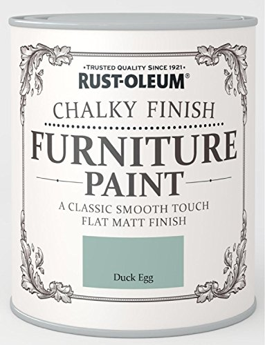 Rust-Oleum Chalky Finish Furniture Paint - Duck Egg - 125ml Rust-Oleum Chalky Finish Furniture Paint – Duck Egg – 125ml Rust Oleum Chalky Finish Furniture Paint Duck Egg 125ml 0
