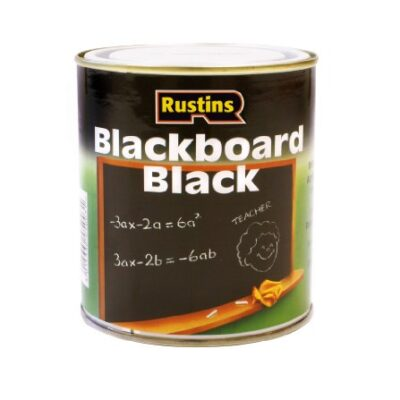 Rustins 250ml Quick Dry Blackboard Paint - Black Rustins 250ml Quick Dry Blackboard Paint – Black Rustins 250ml Quick Dry Blackboard Paint Black 0 400x400