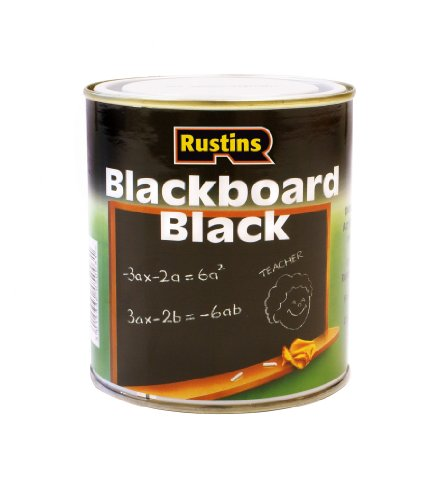 Rustins 250ml Quick Dry Blackboard Paint - Black Rustins 250ml Quick Dry Blackboard Paint – Black Rustins 250ml Quick Dry Blackboard Paint Black 0