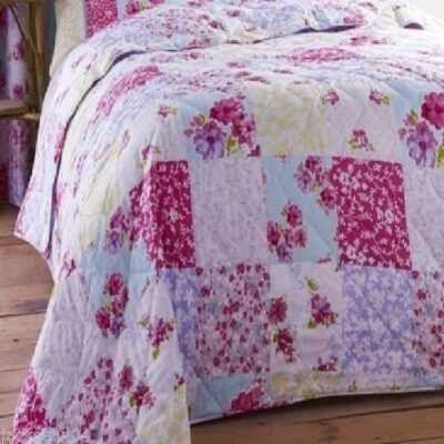 SUPERB QUALITY SHABBY PINK CHIC COTTON FLORAL PATCHWORK BEDSPREAD THROW 200X200 SUPERB QUALITY SHABBY PINK CHIC COTTON FLORAL PATCHWORK BEDSPREAD THROW 200X200 SUPERB QUALITY SHABBY PINK CHIC COTTON FLORAL PATCHWORK BEDSPREAD THROW 200X200 0 400x400