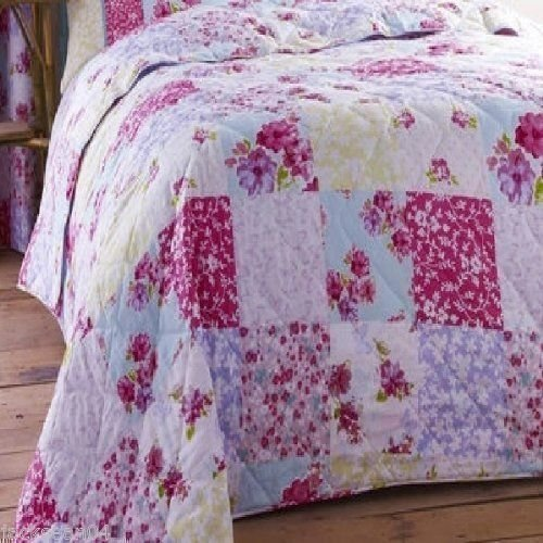 SUPERB QUALITY SHABBY PINK CHIC COTTON FLORAL PATCHWORK BEDSPREAD THROW 200X200 SUPERB QUALITY SHABBY PINK CHIC COTTON FLORAL PATCHWORK BEDSPREAD THROW 200X200 SUPERB QUALITY SHABBY PINK CHIC COTTON FLORAL PATCHWORK BEDSPREAD THROW 200X200 0