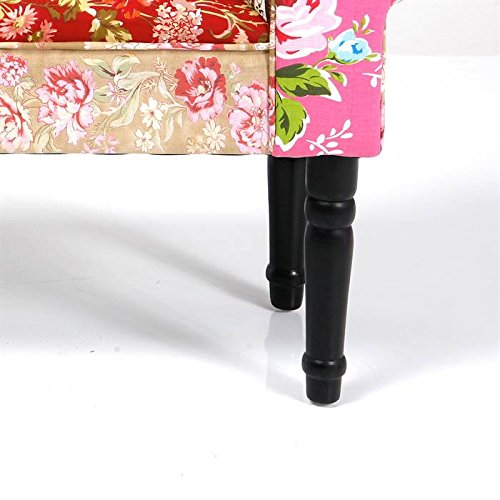 Techstyle Patchwork Upholstered Bedroom Bench Reviews: Kare Design UK Standard Patchwork Wing Bench