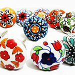 10 x Mix Vintage Look Flower Ceramic Knobs Door Handle Cabinet Drawer Cupboard Pull 10 x Mix Vintage Look Flower Ceramic Knobs Door Handle Cabinet Drawer Cupboard Pull 0 150x150