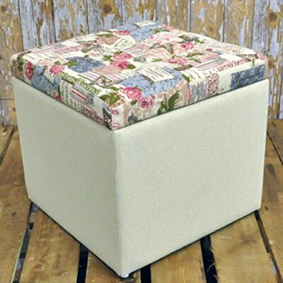 32cm Shabby Chic Floral Rose Cream Fabric Covered Footstool Storage Stool Box 32cm Shabby Chic Floral Rose Cream Fabric Covered Footstool Storage Stool Box 32cm Shabby Chic Floral Rose Cream Fabric Covered Footstool Storage Stool Box 0 400x400