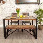 Baumhaus Urban Chic Small Dining Bench Baumhaus Urban Chic Dining Table Small 0 1 150x150