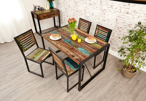 Baumhaus Urban Chic Dining Table Small Baumhaus Urban Chic Dining Table Small 0