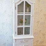 Beautiful Vintage Style Casamore Limoges Tall Display Cabinet with Casing Sways – White Finish Beautiful Vintage Style Casamore Limoges Tall Display Cabinet with Casing Sways White Finish 0 150x150
