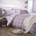 Catherine-Lansfield-Kelso-Cotton-Bed-Linen-Set-Double-Size-Lilac-French-Style-0