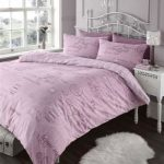 ELEGANT FRENCH SCRIPT PINK DUVET COVER BED SET ELEGANT FRENCH SCRIPT PINK DUVET COVER BED SET 0 150x150