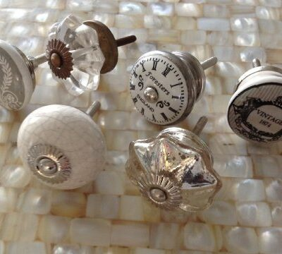 Eclectic lot/set 6 grey crystal/crackle/clock/vintage ceramic furniture/drawer KNOBS Eclectic lot/set 6 grey crystal/crackle/clock/vintage ceramic furniture/drawer KNOBS Eclectic lotset 6 grey crystalcrackleclockvintage ceramic furnituredrawer KNOBS 0 400x360