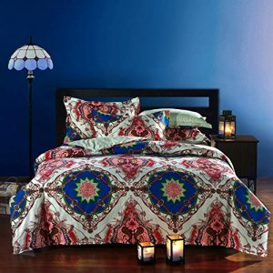 FADFAY Bohemian Style Duvet Covers Bedding Set Queen Size Boho Bedding 4 Pieces FADFAY Bohemian Style Duvet Covers Bedding Set Queen Size Boho Bedding 4 Pieces 0 300x300