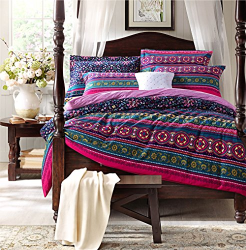 Fadfay Home Textile Modern Colorful Boho Bedding