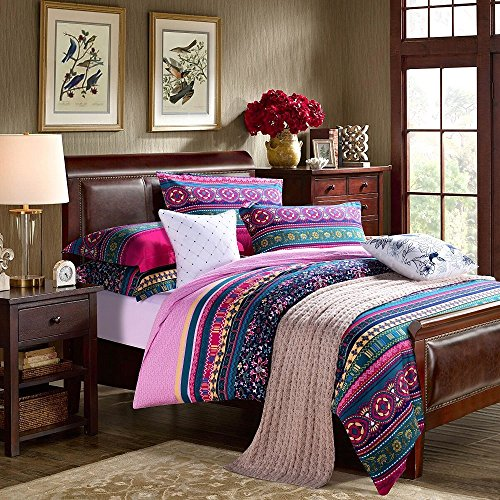 Fadfay Home Textile Modern Colorful Boho Bedding Fashion Adult