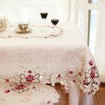FADFAY Home Textile,Elegant Embroidery Table Cloth,Modern European Rustic Table Cover,Luxury Brand Embroidered Tablecloth,Round/Square/Rectangle FADFAY Home TextileElegant Embroidery Table ClothModern European Rustic Table CoverLuxury Brand Embroidered TableclothRoundSquareRectangle 0 150x150