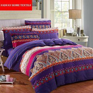 Fadfay Home Textile Modern Paisley Print Duvet Covers