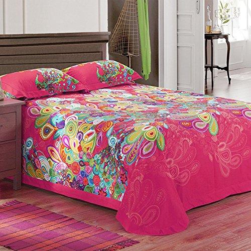Fadfay Home Textile Elegant Colorful Rainbow Stripe