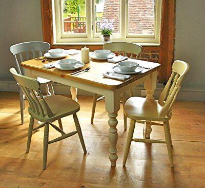 Farmhouse Table (5'x3') Painted legs, Fawley Cream, with an Antique Pine Top Farmhouse Table (5'x3′) Painted legs, Fawley Cream, with an Antique Pine Top Farmhouse Table 5x3 Painted legs Fawley Cream with an Antique Pine Top 0 400x366