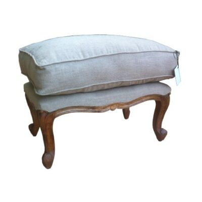 French Shabby Chic Style Bench Stool / ottoman in Natural Linen Fabric hand made from solid wood in retro touch finish. French Shabby Chic Style Bench Stool / ottoman in Natural Linen Fabric hand made from solid wood in retro touch finish. French Shabby Chic Style Bench Stool ottoman in Natural Linen Fabric hand made from solid wood in retro touch finish 0 400x400